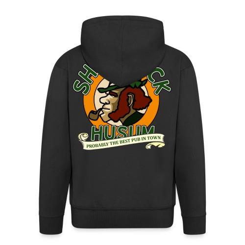 Shamrock Husum Logo - Männer Premium Kapuzenjacke