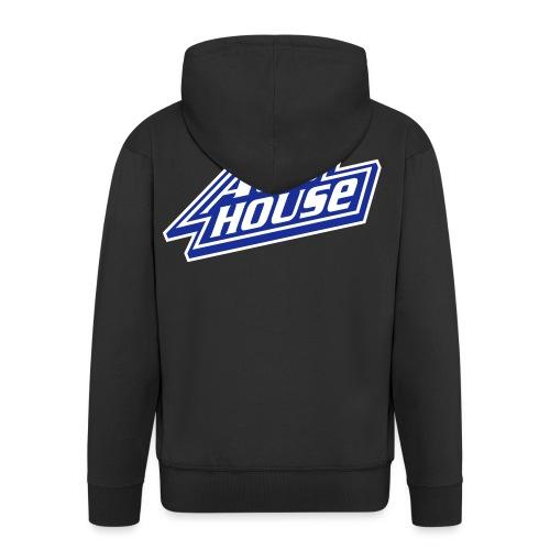 Acid House - Men's Premium Hooded Jacket