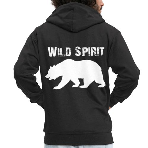 Wild Spirit - Bear - Mannenjack Premium met capuchon