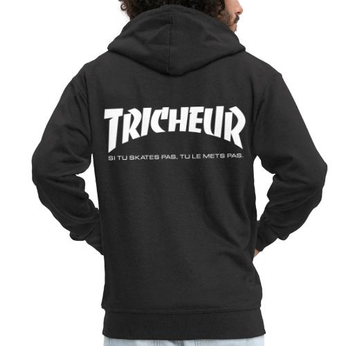 skateboard trasher tricheur - Veste à capuche Premium Homme