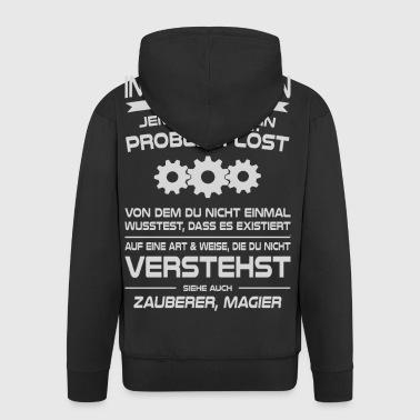 Informatikerin als Problemlöser - Männer Premium Kapuzenjacke