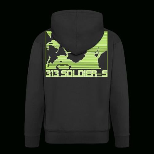 313 SOLDIERS - Männer Premium Kapuzenjacke