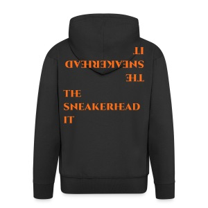 The_sneakerhead_it official merchandise - Felpa con zip Premium da uomo