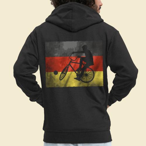 Radball | Flagge Deutschland - Männer Premium Kapuzenjacke