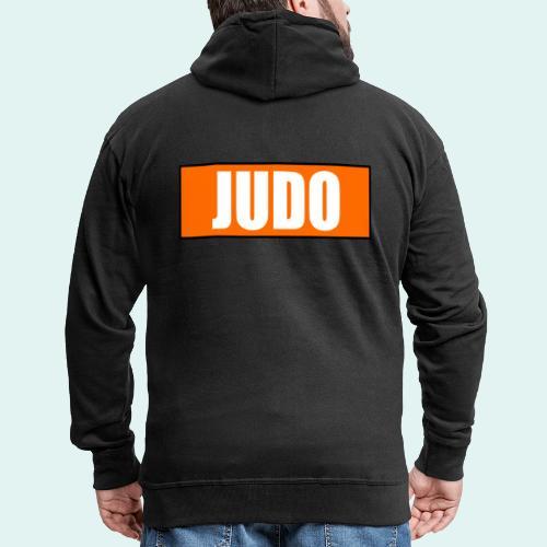 Judo Orange 5. Kyu - Männer Premium Kapuzenjacke