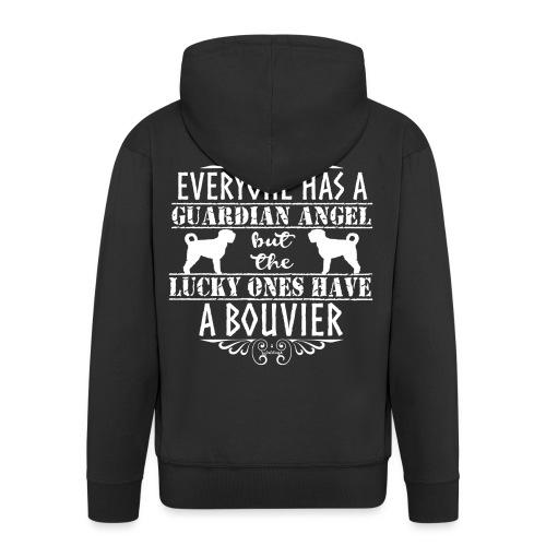 Bouvier Angels 4 - Men's Premium Hooded Jacket