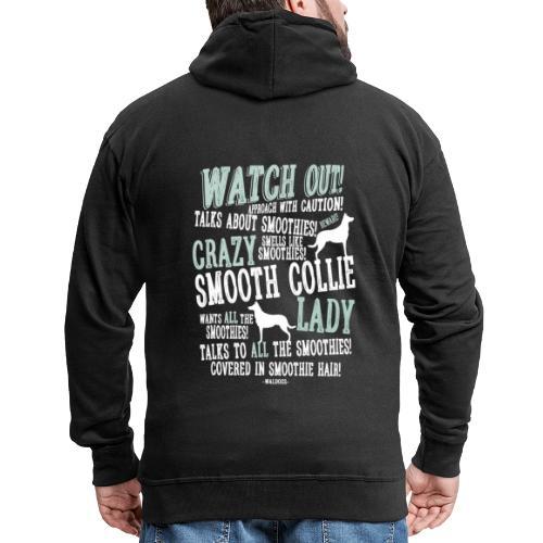 Watch Out! Smoothie W - Miesten premium vetoketjullinen huppari