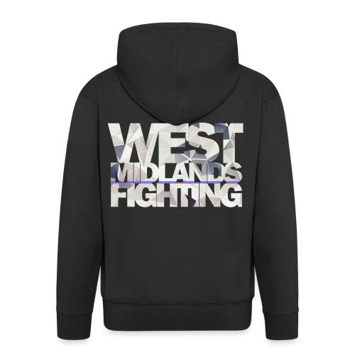 WMF low poly light - Men's Premium Hooded Jacket