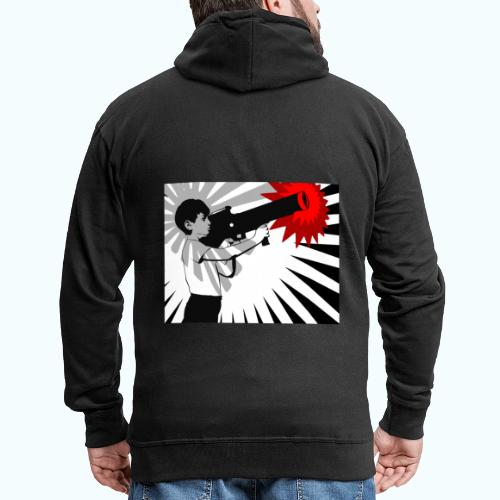 Peace Please - Men's Premium Hooded Jacket
