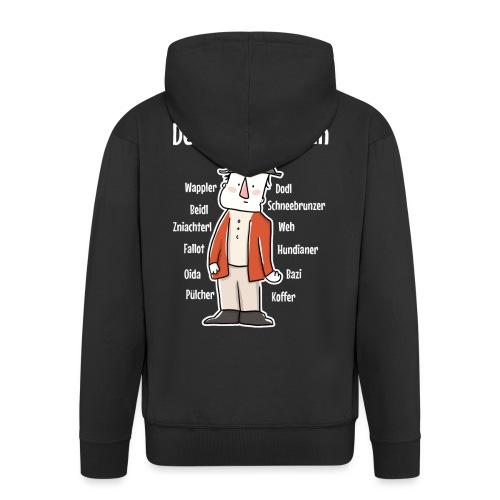 Der Wiener ist ein Geschenk für Wiener - Männer Premium Kapuzenjacke
