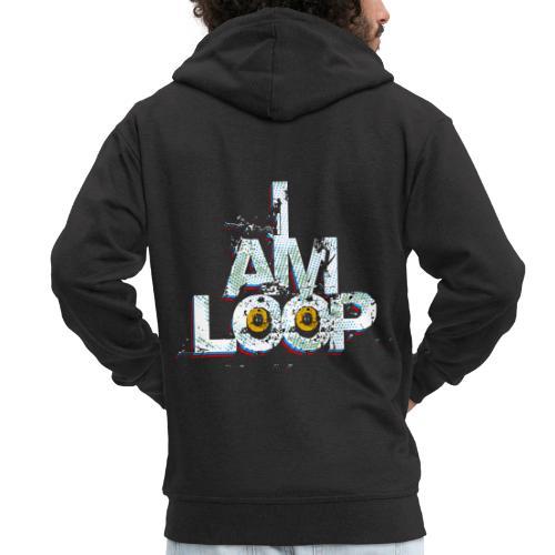 I AM LOOP - Männer Premium Kapuzenjacke