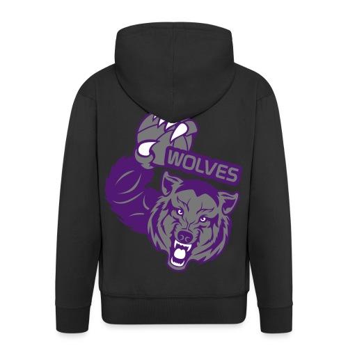 Wolves Basketball - Veste à capuche Premium Homme