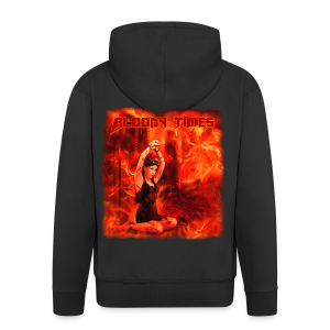 Bloody Times - The Fire of Immortality - Men's Premium Hooded Jacket