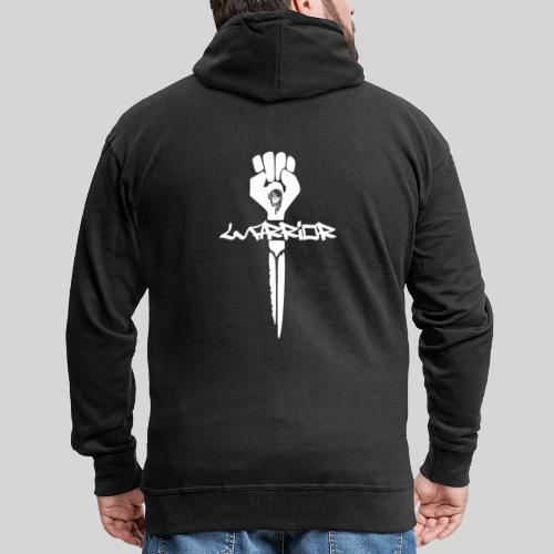 warrior for christ - Kämpfer für Jesus - Männer Premium Kapuzenjacke