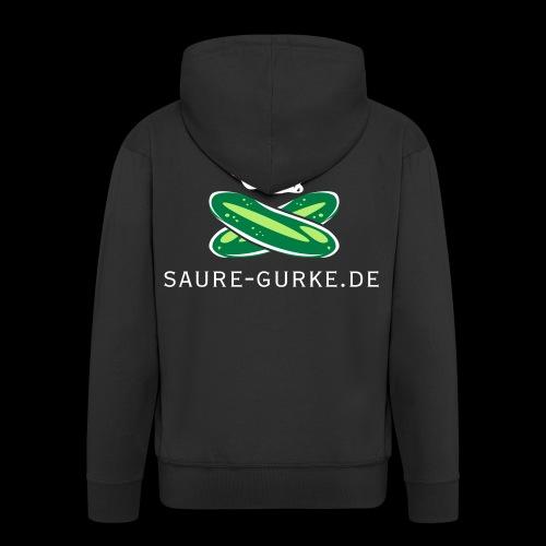 saure-gurke-pirat 01 - Männer Premium Kapuzenjacke