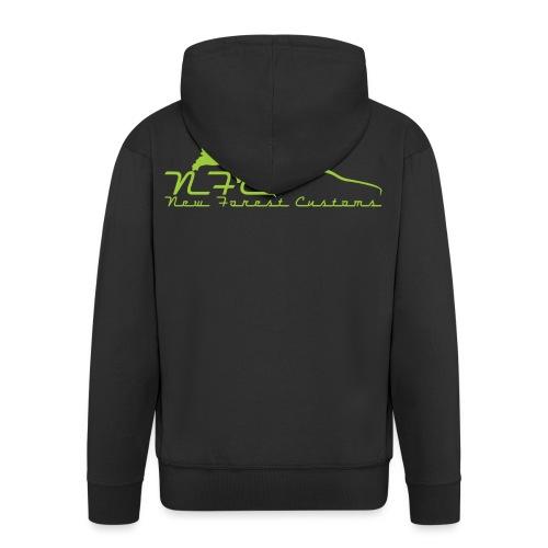 NFC LOGO g bigger png - Men's Premium Hooded Jacket