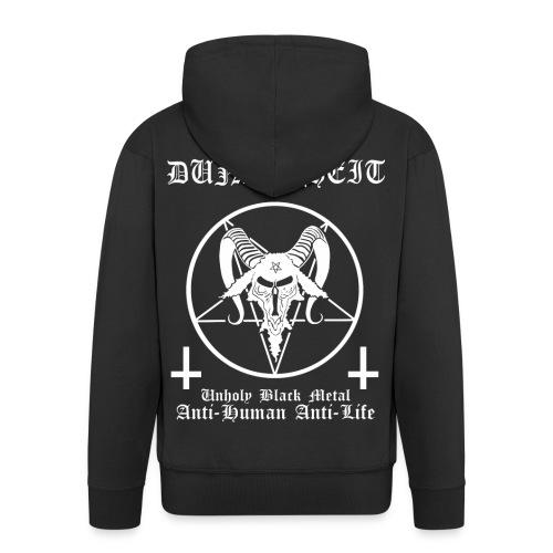 Dunkelheit - Anti Human Anti Life - Männer Premium Kapuzenjacke