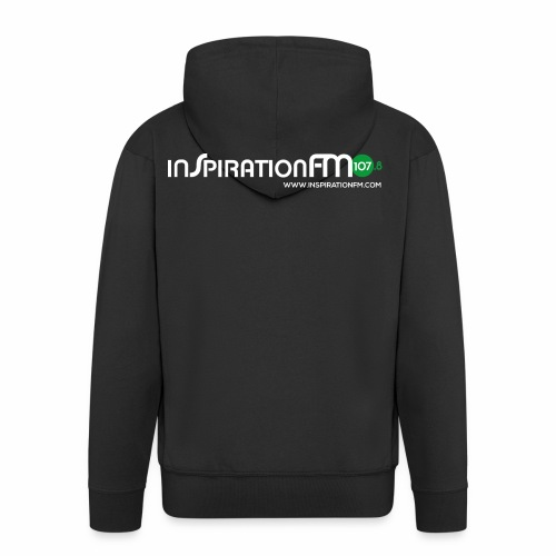 Inspiration FM 107.8 FM Logo Merchandise - Men's Premium Hooded Jacket