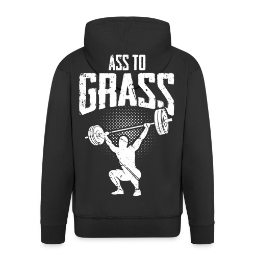 Ass to grass - Männer Premium Kapuzenjacke