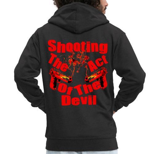 Shooting The Act Of Devil - Veste à capuche Premium Homme
