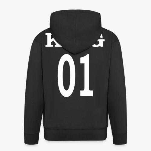 King01white - Männer Premium Kapuzenjacke