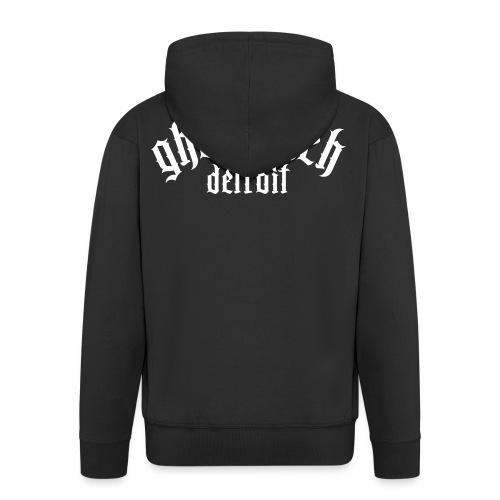 Gettotech Detroit - Men's Premium Hooded Jacket