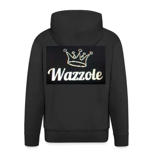 Wazzole crown range - Men's Premium Hooded Jacket