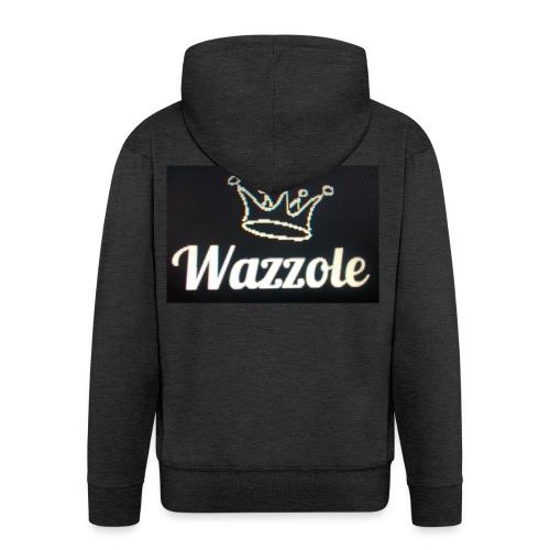 Wazzole crown range - Men's Premium Hooded Jacket