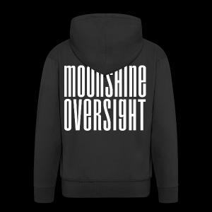 Moonshine Oversight blanc - Veste à capuche Premium Homme