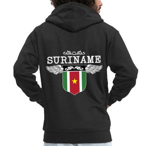 Suriname Wings - Mannenjack Premium met capuchon