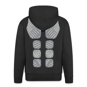 Metal Machine shirt - Mannenjack Premium met capuchon