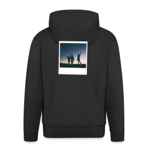POLAROID 2 - Men's Premium Hooded Jacket