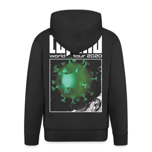 Corona World Tour 2020 | Coronavirus - Men's Premium Hooded Jacket