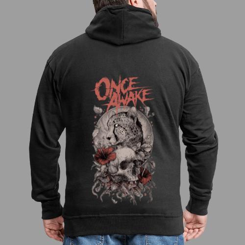 Once Awake skull - Premium Hettejakke for menn