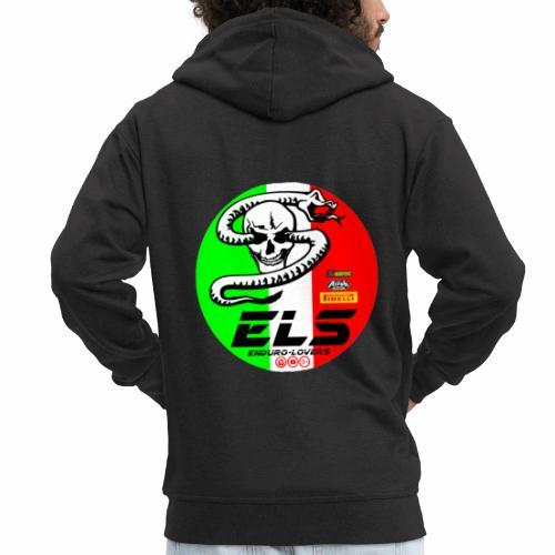 els sponsor - Felpa con zip Premium da uomo