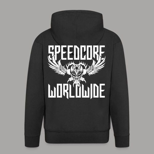 Speedcore Worldwide 2K19 - Männer Premium Kapuzenjacke