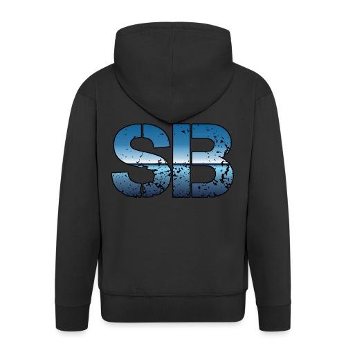 SB Logo - Herre premium hættejakke