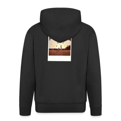 POLAROID 3 - Men's Premium Hooded Jacket