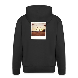 POLAROID 3 - Men's Premium Hooded Jacket