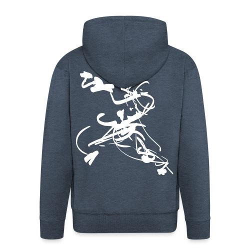mantis style - Men's Premium Hooded Jacket