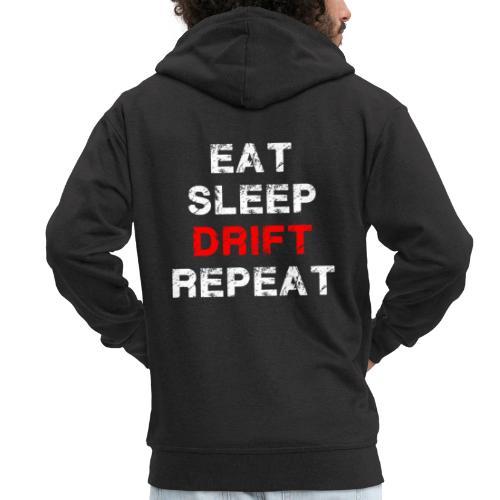 EAT SLEEP DRIFT REPEAT - Männer Premium Kapuzenjacke