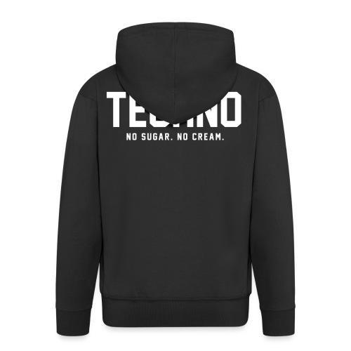 Dark Techno - Men's Premium Hooded Jacket