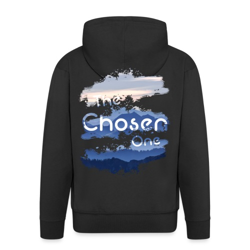 The Chosen One - Men's Premium Hooded Jacket