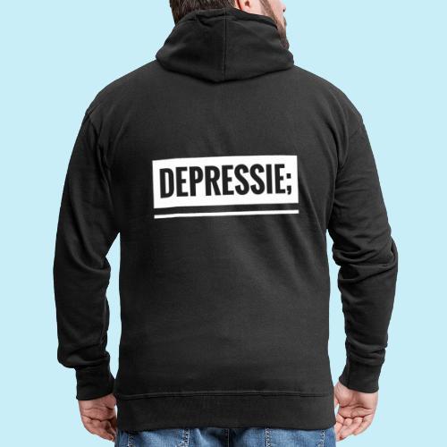 Depressie; - Veste à capuche Premium Homme