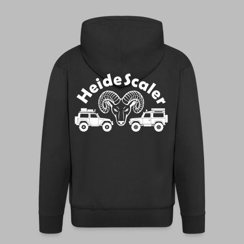 Heide Scaler (freie Farbwahl) - Männer Premium Kapuzenjacke