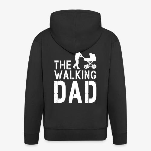 The Walking Dad V2 - Männer Premium Kapuzenjacke