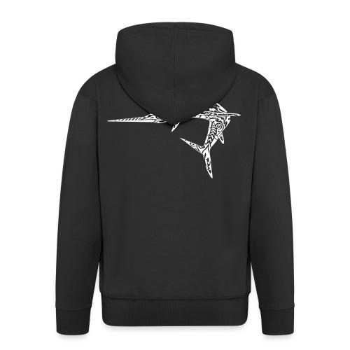 The White Marlin - Men's Premium Hooded Jacket