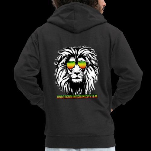 RASTA REGGAE LION - Männer Premium Kapuzenjacke