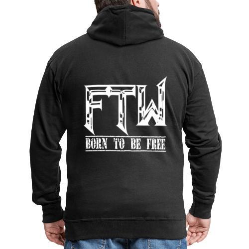 F.T.W - Chaqueta con capucha premium hombre