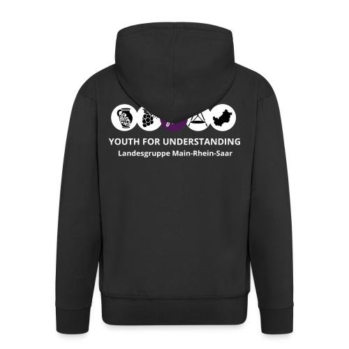 LG MaRheSa Logo - Männer Premium Kapuzenjacke